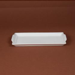 Plat rectangulaire bavarois 26.5x12.5 cm