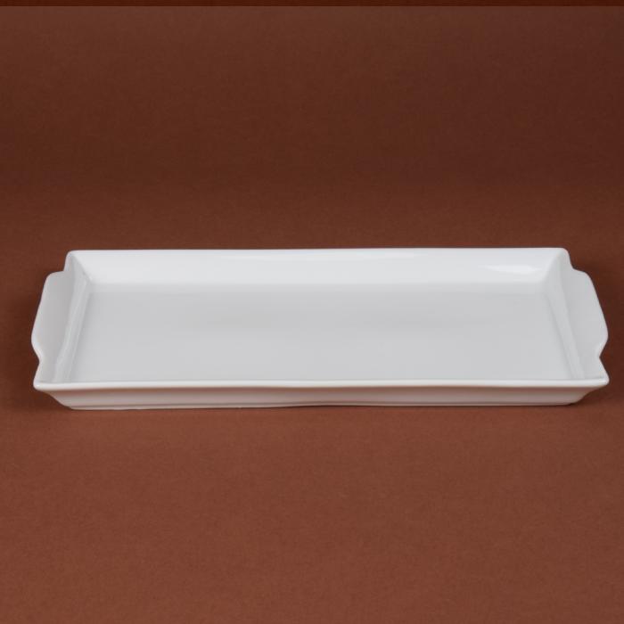 plat a cake bavarois 31x16cm porcelaine girard. Black Bedroom Furniture Sets. Home Design Ideas