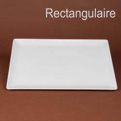 Assiette ou plat rectangulaire  35.5 x 26.5cm