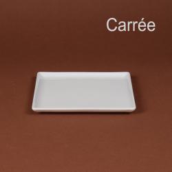 Assiette carrée  20.5cm/