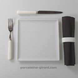 Assiette carrée  20.5 cm/