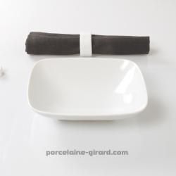 Assiette creuse Mikado 18.5x15.5 cm