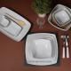 Design et élégant, ce saladier carré est idéal pour une mise en valeur soignée de vos plats sur le buffet, en présentation trait