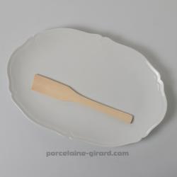 Grand plat ovale collection Clara, /Idéal pour y présenter votre charcuterie, vos fromages, vos verrines, ... /Elégant grace à s