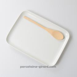 Plateau de service rectangulaire 30x22cm/ideal pour la présentation des carpaccios