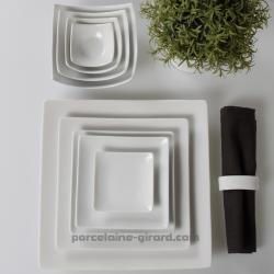 Ravier Design, idéal pour une mise en bouche, une assiette a pain, ... /Esprit japonisant et forme contemporaine pour un repas c