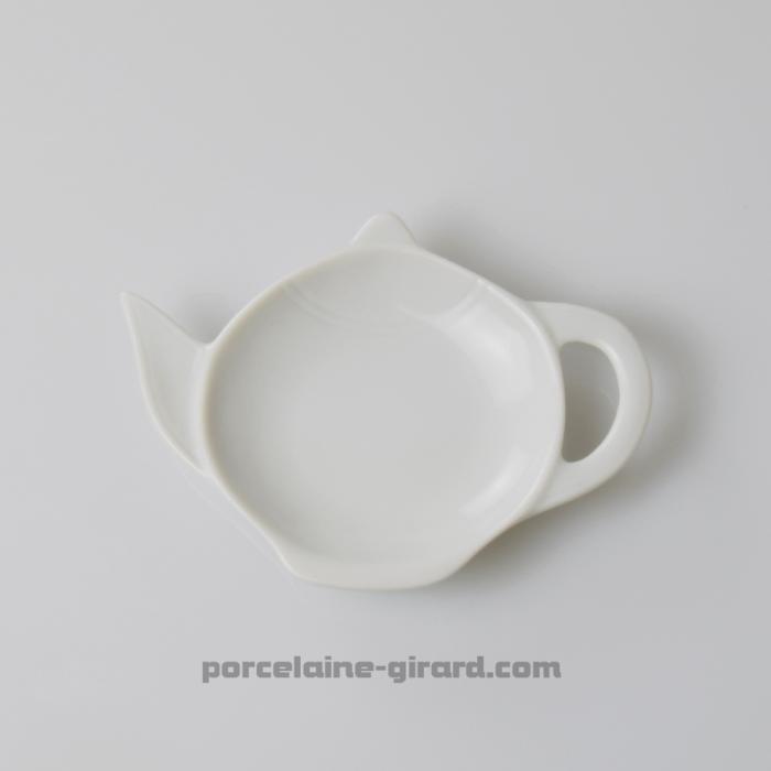 Ce repose sachet Thé supportera votre sachet de thé usagé le temps que vous savourez votre boisson. Savourez votre moment de dét