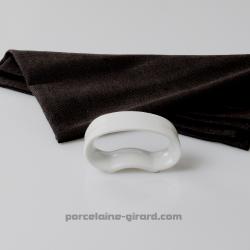Rond de serviette ovale diamètre 4.5cm HT 2.3cm