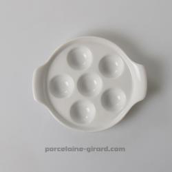 Le plat à escargots en porcelaine est indispensable pour deguster vos escargots au quotidien ou en repas de fete. Le plat a esca
