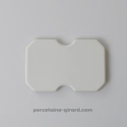 Plaque Presse Foie 13x8.5cm