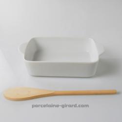 Ce Plat à gratin rectangulaire (22x14cm) est idéal pour réaliser de délicieux gratins - lasagnes- moussakas. quenelles- farcis-