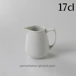 Pot avec bec verseur 17cl HT 8.4cm