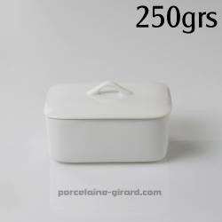 Boite pour beurre 250g 12.5x8.3 HT 5.1CM