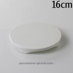 Dessous de plat rond sur pied diamètre 16cm HT 2.1cm