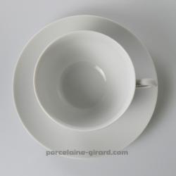 Tasse à dejeuner Louvre,  Contenance 50cl./Se complète avec la sous tasse, ref 6099./La collection Louvre se décline en trois mo