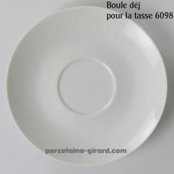 Sous tasse déjeuner boule Louvre diamètre 18.5cm