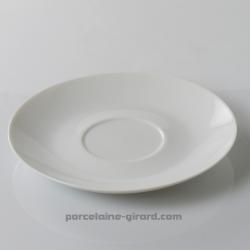 Sous tasse à Déjeuner Louvre, /Se complète avec la tasse, ref 6098./La collection Louvre se décline en trois modèles: Déjeuner -
