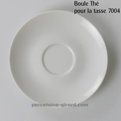 Sous tasse à Thé Louvre, /Se complète avec la tasse, ref 7004./La collection Louvre se décline en trois modèles: Déjeuner - Thé