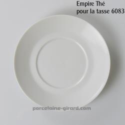 Sous tasse thé Empire diamètre 15cm
