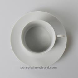 Sous tasse à Thé Empire, /Se complète avec la tasse, ref 6083./La collection Empire se décline en trois modèles: Déjeuner - Thé