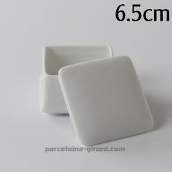 Boite carrée Elise 6,5cm HT 4.5cm
