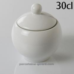 Ce sucrier en forme de boule mettra en valeur votre table. /300cc