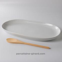 Plat ovale Elysée 39.4 x...