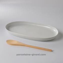 Plat ovale Elysée 34x19.7cm