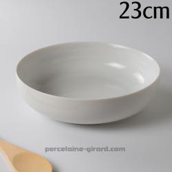 Saladier Elysée 23cm HT 6.4cm