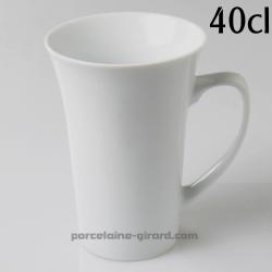 Mug Trianon 40cl diametre 9.6cm HT 13.5cm