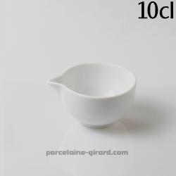 Pot avec bec verseur indiviudel 10cl 8x4.9cm