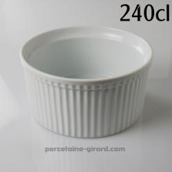 Ce moule à soufflé est très pratique pour réaliser vos préparations sucrées et salées./Existe en 8 tailles./220cl