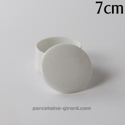 Boite ronde  Elise 7cm HT 4.3cm