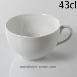 Tasse déjeuner boule Louvre 43cl diamètre 11.5cm