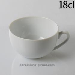 Tasse à Thé Louvre, /Contenance 21cl./Se complète avec la sous tasse, ref 7005./La collection Louvre se décline en trois modèles