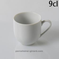 Tasse à Café Louvre, /Contenance 10cl./Se complète avec la sous tasse, ref 6407./La collection Louvre se décline en trois modèle