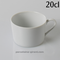 Tasse thé Empire 20cl diamètre 8.5cm