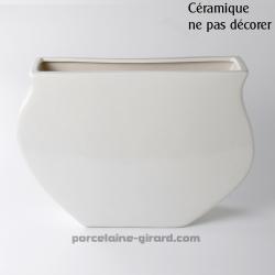 Vase Noble HT 24.5cm /NE PAS DECORER CERAMIQUE
