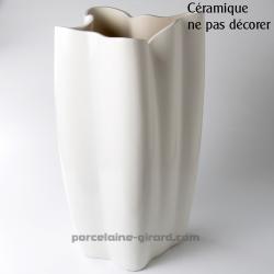 Vase Butterflies HT 42cm /NE PAS DECORER CERAMIQUE