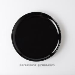 Assiette dessert black 19.6cm
