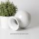 Jolie vase boule avec col de 11.5cm