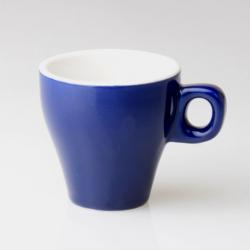 Tasse café Clara Bleu 8cl diamètre 6.5cm HT 6.5cm