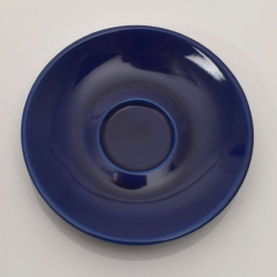 Sous tasse Clara Bleu diamètre 12cm HT 1.5cm
